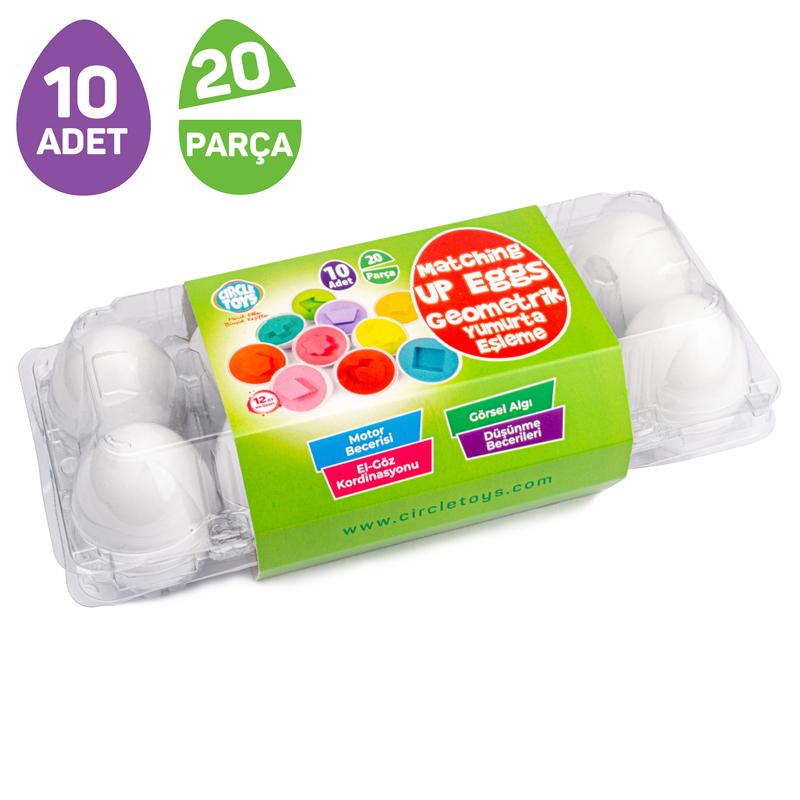 Gemometrik Yumurta Eşleme 10 Adet